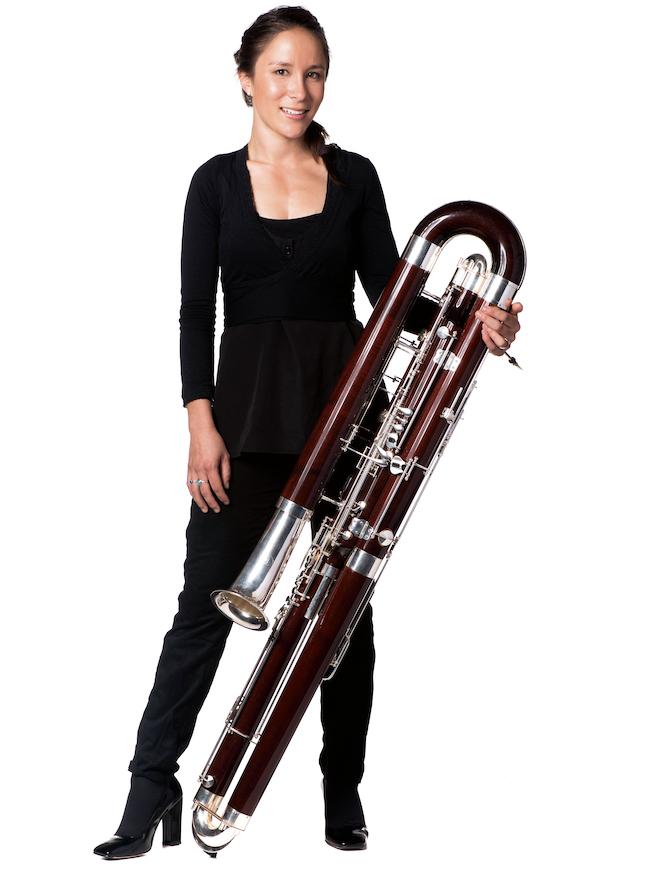 Фотография Джеки Хэнсен, музыканта Аделаидского симфонического оркестра